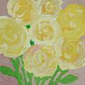 Gentle Yellow Bouquet by Karen Szybalski