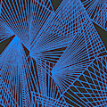 Geometric Pattern 3-colour-20 by Katerina Stamatelos