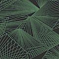 Geometric Pattern 3-colour-22 by Katerina Stamatelos