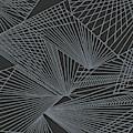Geometric Pattern 3-colour-23 by Katerina Stamatelos