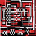 Geometric Stylization 2 by Candice Danielle Hughes