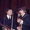 George Harrison, Paul Mccartney by Art Zelin