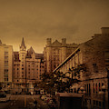 George St And Sussex Dr. by Juan Contreras