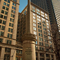 George Thorndike Angell Monument by Joann Vitali