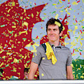 Geraint Thomas, Welsh Cyclist, Winner Of The 2018 Tour De France, by Keith Morris