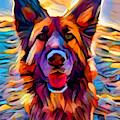 German Shepherd 8 by Chris Butler