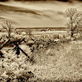 Gettysburg Battlefield Infrared Landscape by Paul W Faust - Impressions of Light