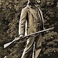 Gettysburg Battlefield - John Burns by Cindy Treger