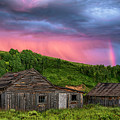 Ghost Town Sunset 3 by Dave Dilli