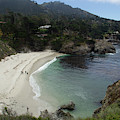 Gibsons Beach Overlook by Marie Leslie