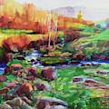 Gilded Hillside by Steve Henderson