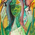 Girl In A Garden by Edgeworth DotBlog