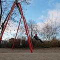 Girl On Swing by Michael Gerbino