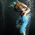 Girl Underwater by Patrizia Savarese