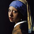 Girl With The Pearl Earring Ethnic by Tony Rubino