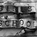 Girls School Stone Carving by Helen Northcott