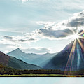 Glacier National Park Sunset by Kay Brewer