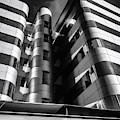 Glass And Steel II Bnw by Borja Robles