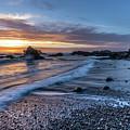 Glass Beach Sunset by David Kulp