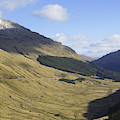 glen in highlands known as  the Rest and be Thankful by Victor Lord Denovan