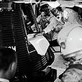 Glenn, Shepard, & The Freedom 7 Capsule by Ralph Morse