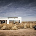 Glenrio Abandoned Gas Station  by Imagery by Charly