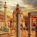 Glories Past And Present,  Rome by Leigh Kemp