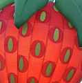 Glowing Strawberry by Marie Leslie