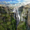 Glymur Waterfall by Anthony Dezenzio