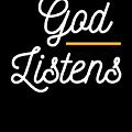 God Listens Bible Verse Christian Prayer Pray by Henry B