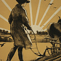 God Speed The Plough And The Woman Who Drives It by Henry George Gawthorn