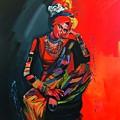 Goddess Of Colors by Nizar MacNojia