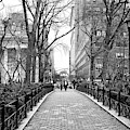 Going For A Walk In Union Square Park New York City by John Rizzuto