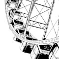 Going Up On The Big Wheel by Kirt Tisdale