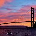 Golden Gate Sunset by Brian Tada