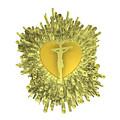 Golden Heart Of Jesus by Alberto RuiZ