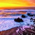 Golden Hour Sunset by Garry Gay