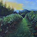 Golden Promise - Ott Farms And Vineyard by Jan Dappen