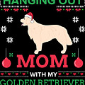 Golden Retriever Ugly Christmas Sweater Xmas Gift by TeeQueen2603