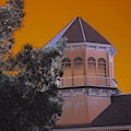 Golden Sky Haunting Tower On Gold Strike Casino by Colleen Cornelius