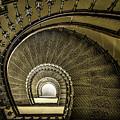 Golden Stairway by Jaroslaw Blaminsky