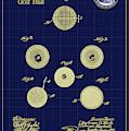 Golf Ball Patent Drawing 1899 by Carlos Diaz