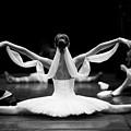 Gorgeous Ballerina Repeating Movements by Anna Jurkovska