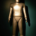 Gort The Humanoid Robot The Day The Earth Stood Still R1040 by Wingsdomain Art and Photography