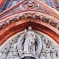 Gothic Relief Sculpture On Church by Ariadna De Raadt