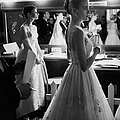 Grace Kellyaudrey Hepburn by Allan Grant