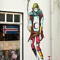 Graffiti By Deih In Reykjavik by RicardMN Photography