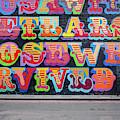 Graffiti Mural by Michael Gerbino