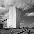 Grain Elevator, 2001 by Thomas Wyckoff