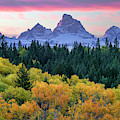 Grand Autumn Sunrise by Leland D Howard